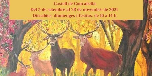 👉 La sala d'exposicions del Castell de Concabella acull fins al 28 de novembre una col•lecció de pintures de l'artista Llorenç Dellarés Garcia.