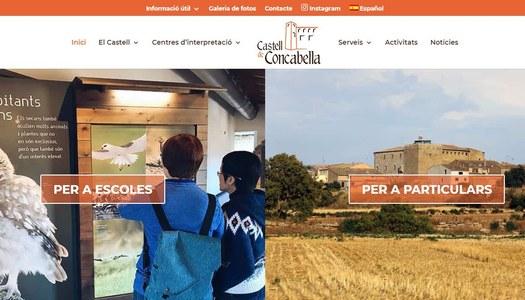 El Castell de Concabella estrena pàgina web