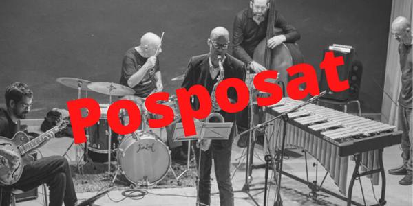 Es posposa el concert de Jaume Llombart Sextet previst pel dissabte 14 de març