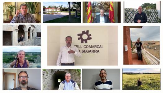 """L'ajuntament dels Plans de Sió participa en la campanya """"Tornarem"""""""