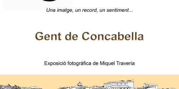"""L'exposició """"Gent de Concabella"""" mostra 46 concabellencs, fotografiats al llarg del 2019"""