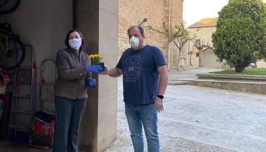 Sant Jordi solidari als Plans de Sió